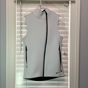 Nike White Therma-Fit Vest